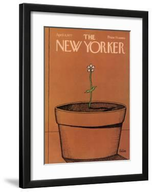 The New Yorker Cover - April 4, 1977 by Robert Tallon