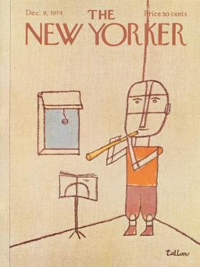 The New Yorker Cover - December 9, 1974 by Robert Tallon
