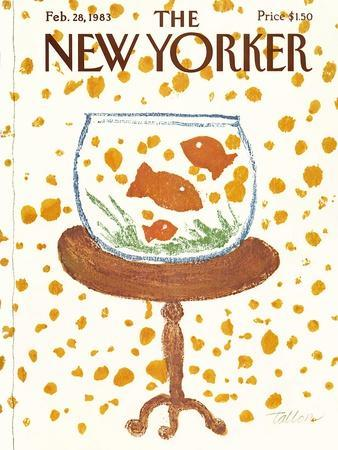 The New Yorker Cover - February 28, 1983