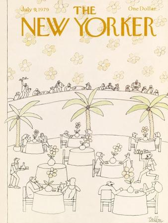 The New Yorker Cover - July 9, 1979