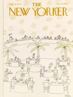The New Yorker Cover - July 9, 1979 by Robert Tallon