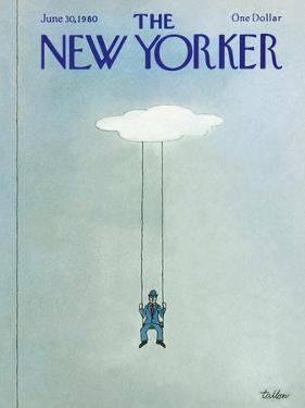 The New Yorker Cover - June 30, 1980 by Robert Tallon