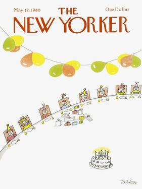 The New Yorker Cover - May 12, 1980 by Robert Tallon