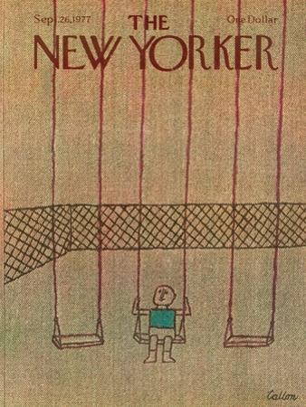 The New Yorker Cover - September 26, 1977
