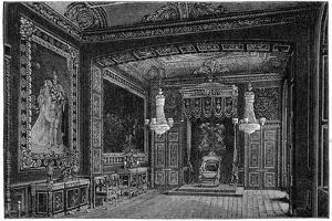 The Throne Room, Windsor, 1880 by Robert Taylor Pritchett