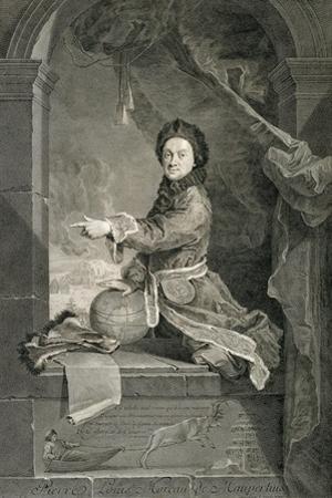 Portrait of Pierre Louis Moreau De Maupertuis (Saint-Malo