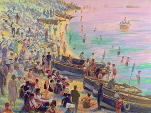 Brighton Beach by Robert Tyndall