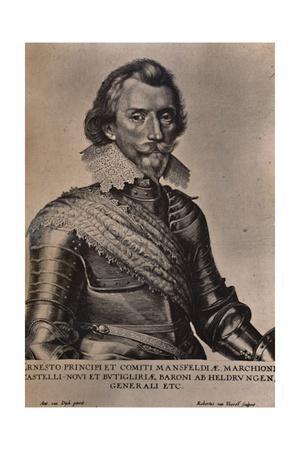 Count Ernst von Mansfeld, German general of the Thirty Years War, 17th century (1894)