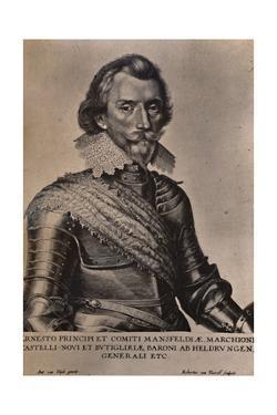 Count Ernst von Mansfeld, German general of the Thirty Years War, 17th century (1894) by Robert van Voerst