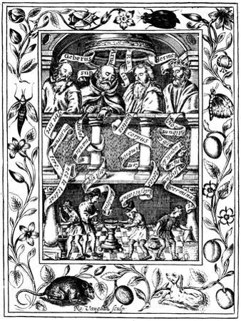 The Four Great Alchemists, 1652