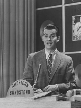 Master of Ceremonies, Dick Clark Presiding over the Teenage Jazz Show by Robert W. Kelley