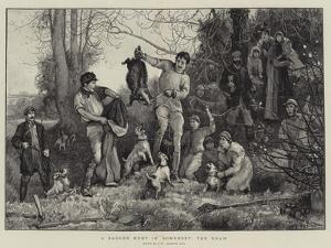 A Badger Hunt in Somerset, the Draw by Robert Walker Macbeth