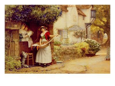 The Ballad Seller, 1902