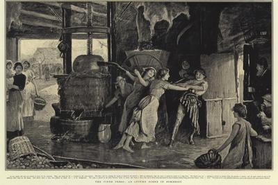 The Cider Press, an Autumn Scene in Somerset