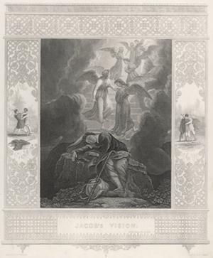 Jacob's Dream, Stothard by Robert Wallis