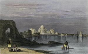 Taj Mahal, Agra, India, 19th Century by Robert Wallis