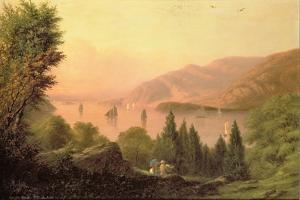 Picnic Along the Hudson, 1881 by Robert Walter Weir