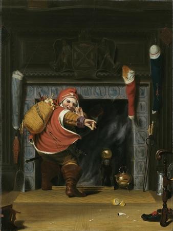 Santa Claus or St. Nicholas, 1837