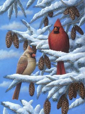Cardinals by Robert Wavra