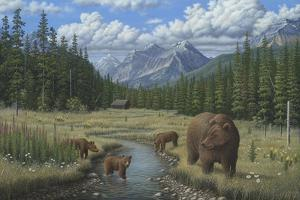 Checking Things Out - Grizzlies by Robert Wavra