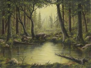 Evening at the Creek by Robert Wavra