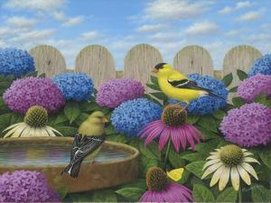 Goldfinches by Robert Wavra