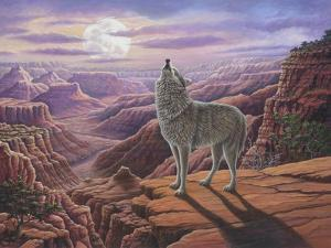 Howling Wolf by Robert Wavra