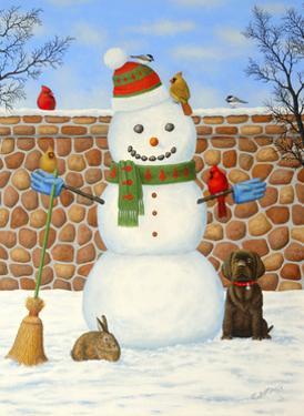 Snowman by Robert Wavra