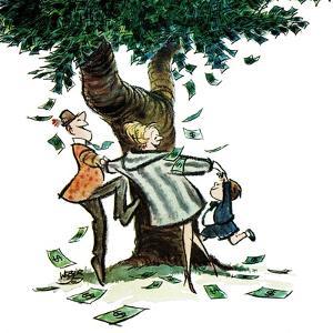 """""""Money, Money, Money,"""" December 30, 1967 by Robert Weber"""