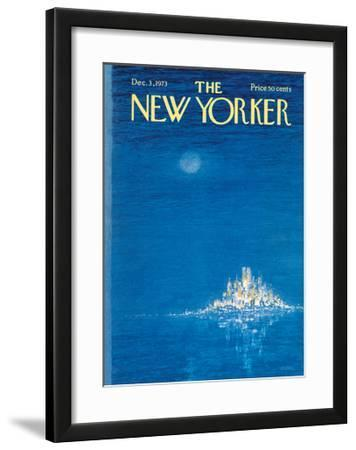 The New Yorker Cover - December 3, 1973 by Robert Weber