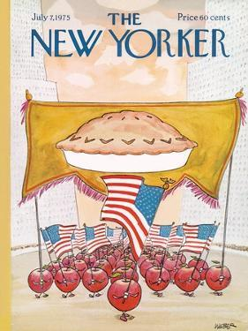 The New Yorker Cover - July 7, 1975 by Robert Weber