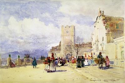 Taormina, Sicily, 1896