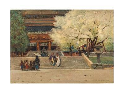 'Temple at Nikko, Japan', c1908