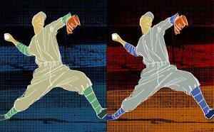 Double Pitch by Robert Williamson