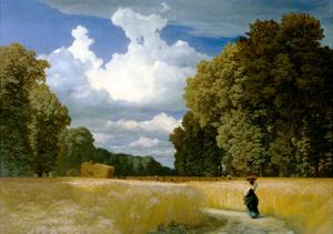 Harvest Time by Robert Zünd