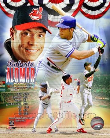 Roberto Alomar Legends Composite