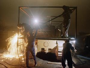 1991 Gulf War Oil Fires by Roberto Borea
