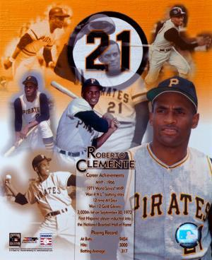 Roberto Clemente - Legends of the Game Composite