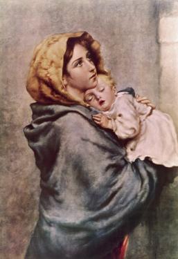 Madonna of the Poor by Roberto Ferruzzi