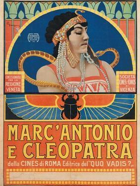 Antony and Cleopatra (1913) by Roberto Franzoni