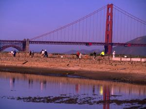 Tidal Lagoon at Crissy Field, San Francisco, California, USA by Roberto Gerometta