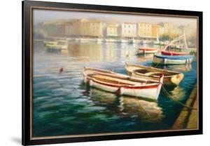 Harbor Morning I by Roberto Lombardi