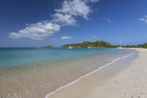 Deep Bay, a Beach on the Island of Antigua, Leeward Islands, West Indies by Roberto Moiola