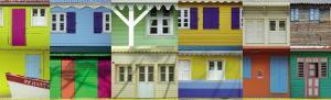 Maisons Créoles, Martinique by Roberto Scaroni