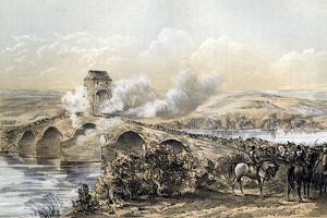 The Battle of Bothwell Bridge, 1679 by Robertson