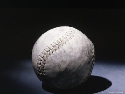 Light Shining on a Baseball