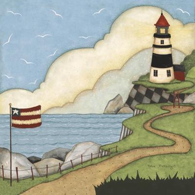 Black and White Lighthouse by Robin Betterley