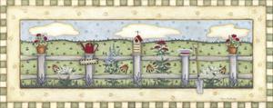 Fenceline Flowers by Robin Betterley