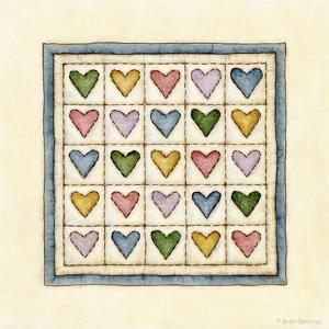 Hearts Patchwork by Robin Betterley