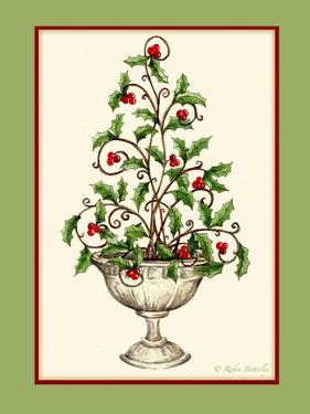 Holly Tree Topiary by Robin Betterley
